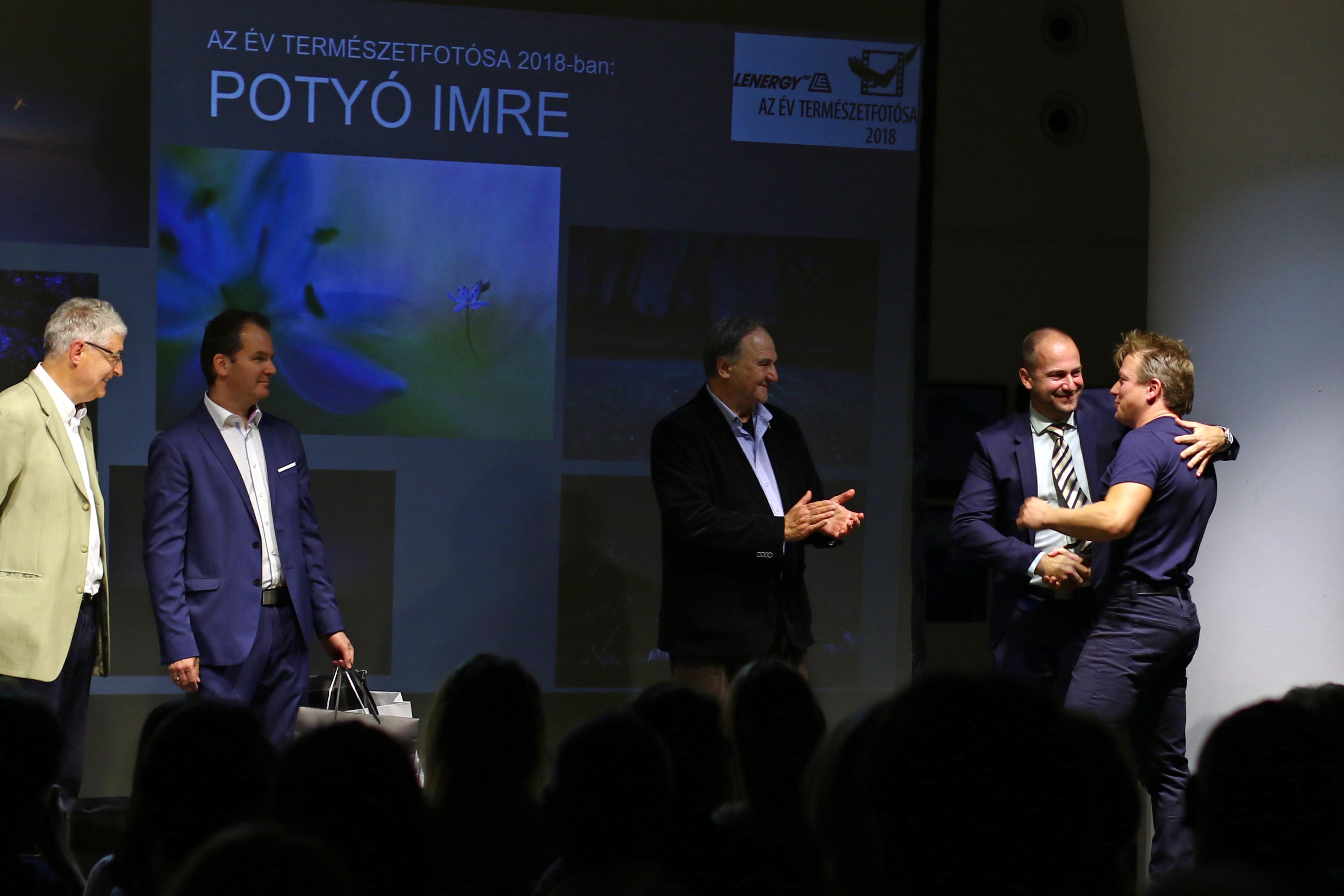 Potyó Imre az Év Természetfotósa! Lenergy – Az Év Természetfotósa 2018 díjátadója