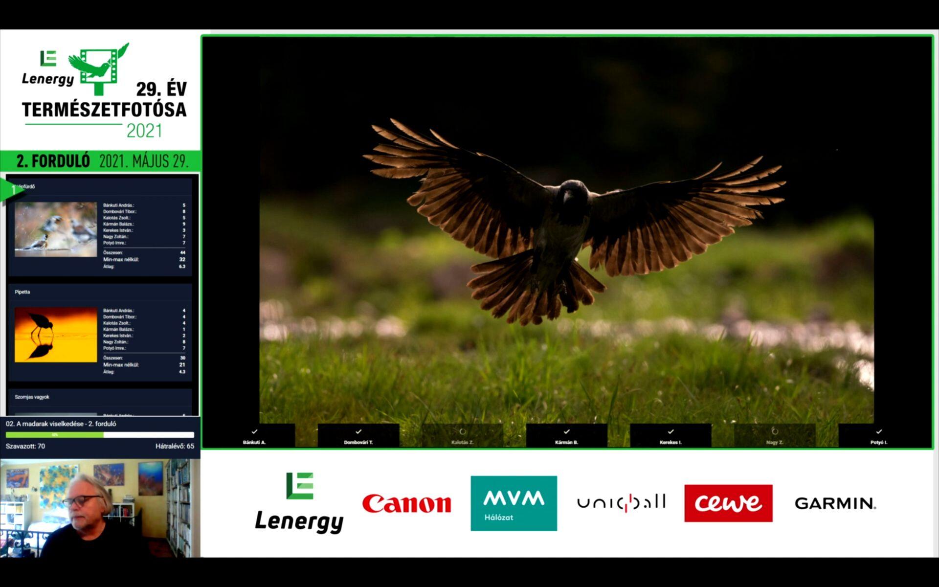 Read more about the article Lezajlott az Év Természetfotósa 2021 fotópályázat zsűrizésének 3., döntő fordulója